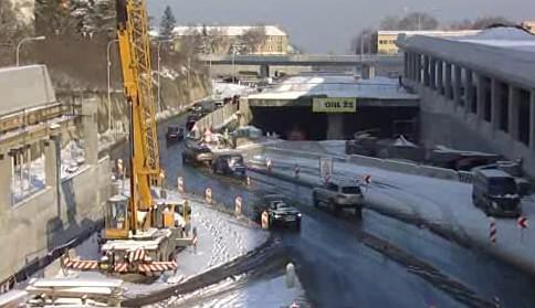 Stavba Královopolských tunelů stále pokračuje