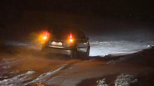 Sněhová kalamita odřízla některé obce na Zlínsku