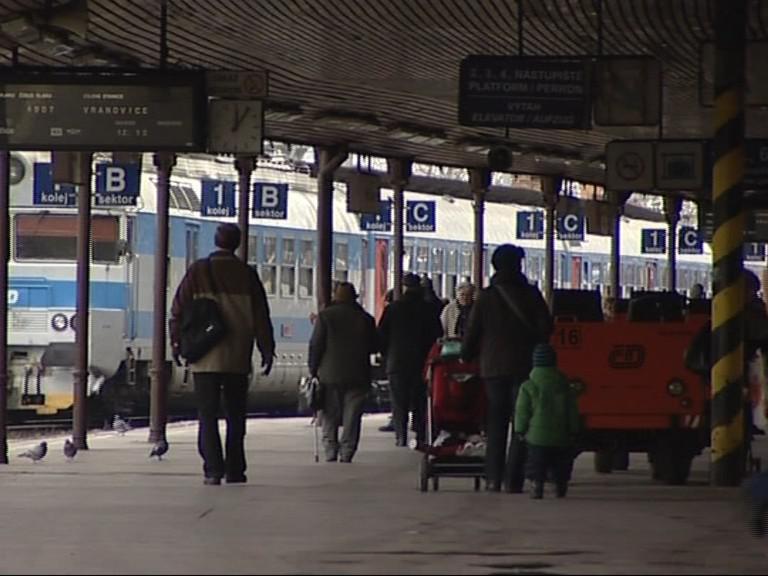 Hlavní vlakové nádraží v Brně