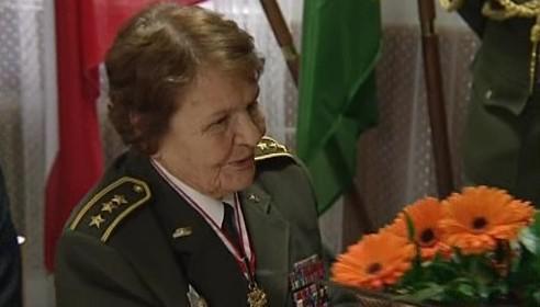 Válečná odstřelovačka Marie Lastovecká slaví devadesátiny