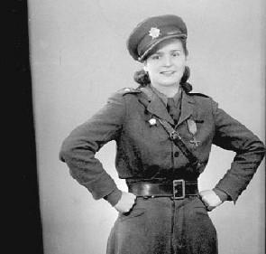 Plukovnice Marie Lastovecká - historická fotografie