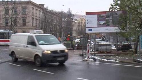 Rekonstrukce Joštovy ulice v Brně