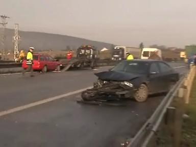 Nehody na náledí ochromily jižní Moravu