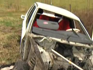 Nehoda u obce Lipina, 24.11.2010