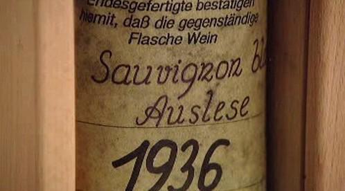 Sauvignon Blanc z roku 1936