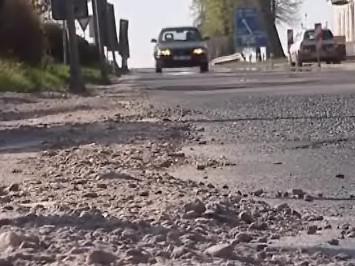 Poškozené silnice