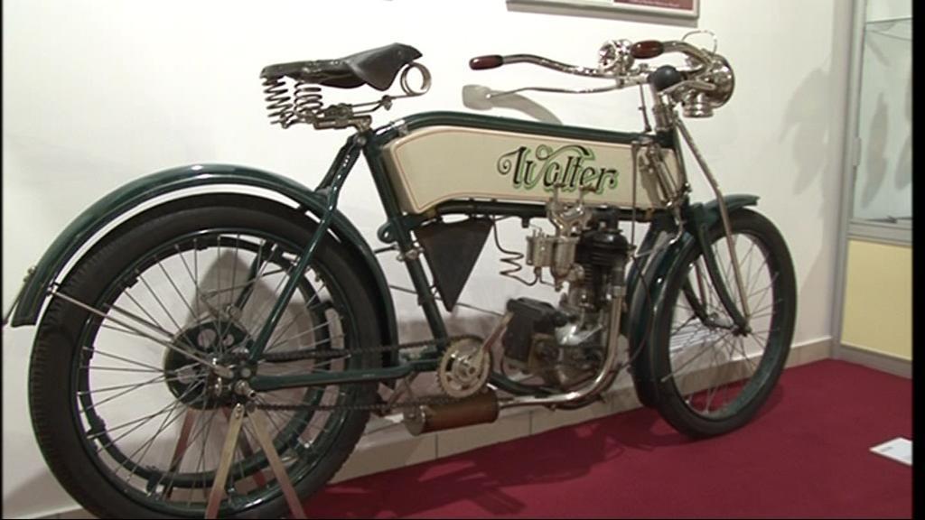 Motocyklový dědeček Walter z roku 1908