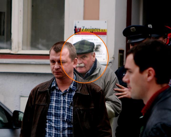 Zbyšek Dřevojan, údajný stalker (foto: Znojemský deník)