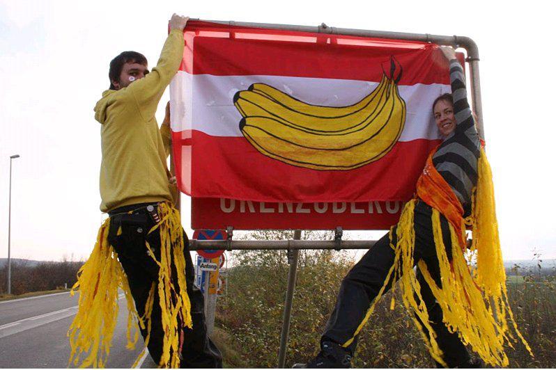 Aktivisté zablokovali přechod v Mikulově