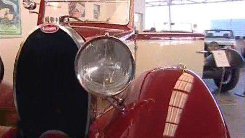 Závodní vůz Bugatti
