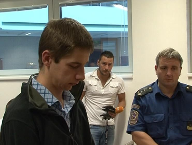 Obžalovaný Petr Zahradník