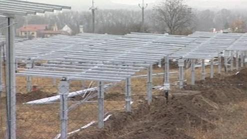 Solární elektrárna ve Znojmě-Oblekovicích