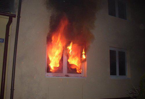 Požár v Hrušovanech