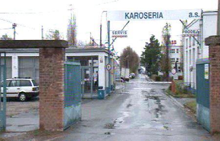 Areál firmy Karoseria, v níž obžalovaná účetní pracovala