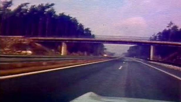Historické záběry dálnice D1