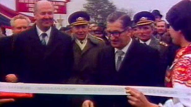 Slavnostní otevření dálnice D1