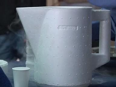 Speciální nádoba na přenos kapalného dusíku