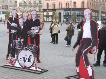 Propagace festivalu v Brně