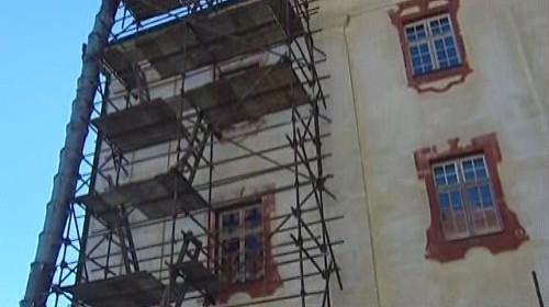Rekonstrukce zámku v Kunštátě