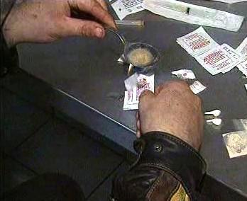 Příprava drogy