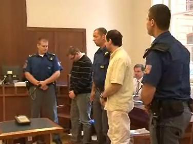 Robert Justych a Marek Mřihlad u soudu