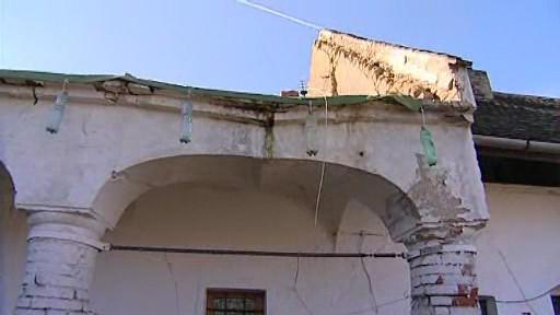Památkově chráněný dům na Znojemsku se hroutí