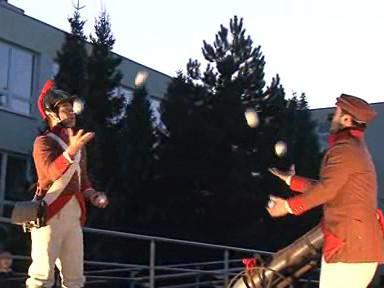 Žongléři se připravují na příchod zimy