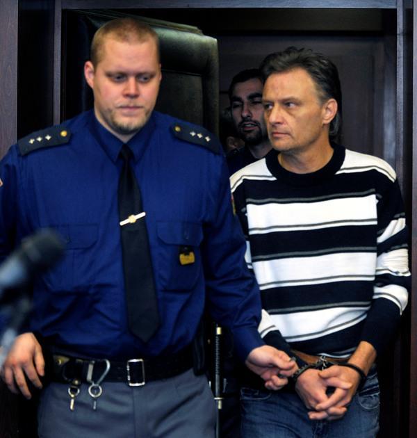 Vladimír Zárybnický u soudu