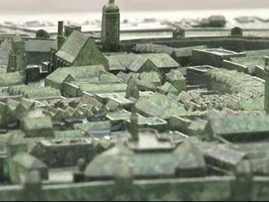 Plastika Brna na Moravském náměstí