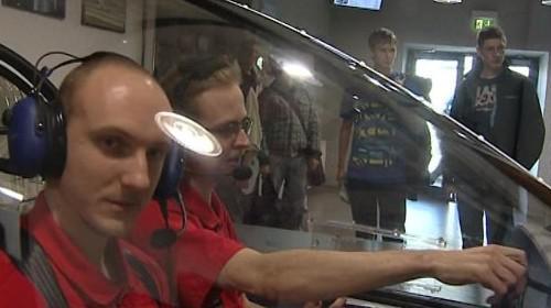 Studenti VUT testují letecký simulátor