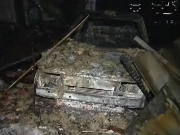 Požár v obci Mikulůvka