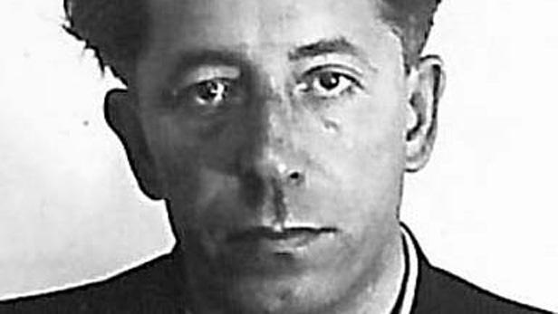 Vazební fotografie pátera Václava Drboly
