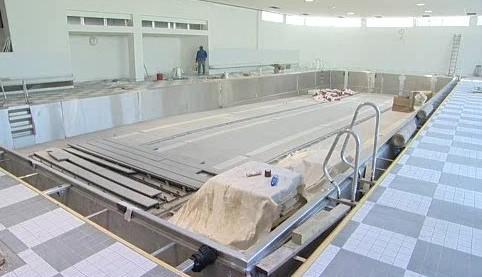 Rekonstrukce městské plovárny v Luhačovicích