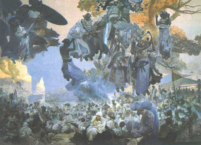 Slovanská epopej - Slované v pravlasti