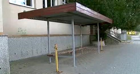 Místo incidentu ve Střelicích u Brna