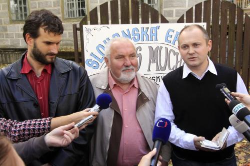 Roman Koucký, Jaroslav Mokrý a Michal Hašek