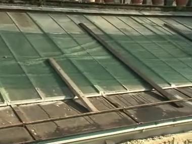 Havarijní stav skleník na zámku Rájec-Jestřebí