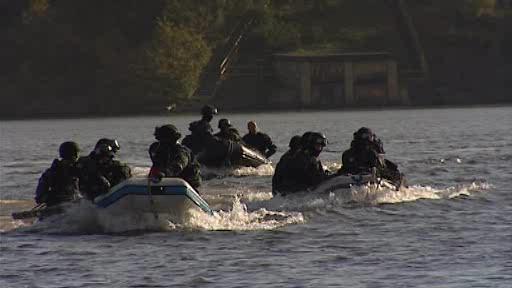 Policie na přehradě nacvičovala zásah proti teroristům
