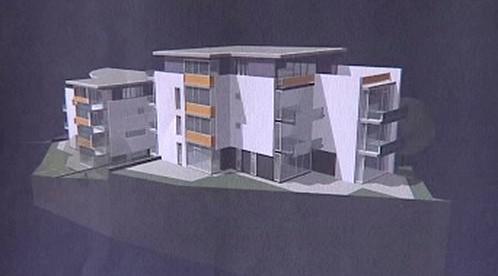 Maketa bytového domu