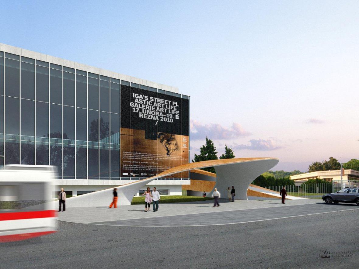 Vizualizace projektu Moravian Science Centre