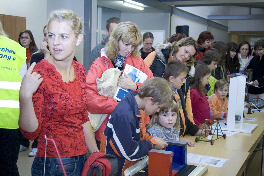 Noc vědců 2009 v Brně