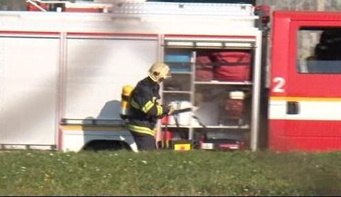 Zásah hasičů v Bohunicích