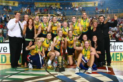 Australské basketbalistky