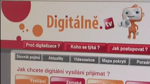 Server Digitálně.tv informuje o digitalizaci