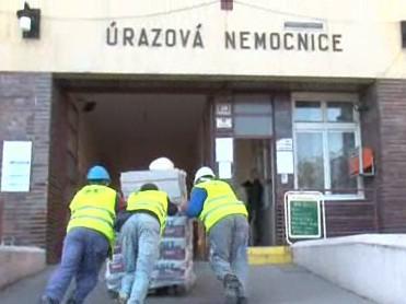Výměna oken v brněnské úrazové nemocnici
