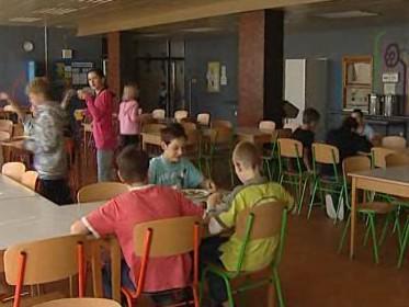 Jídelna Základní školy Pavlovská v Brně-Kohoutovicích