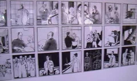 Ilustrace komiksu od Ricka Poynora
