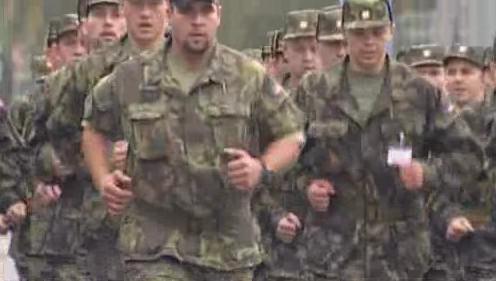 Vyškovští vojáci při výcviku