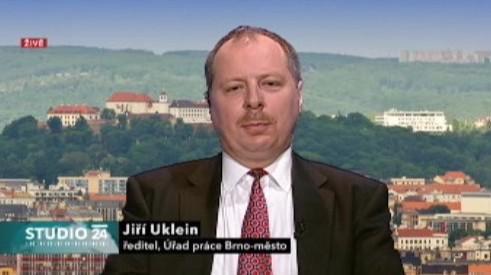 Bývalý ředitel Úřadu práce Brno-město Jiří Uklein