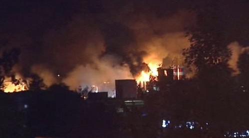 Požár laminátovny